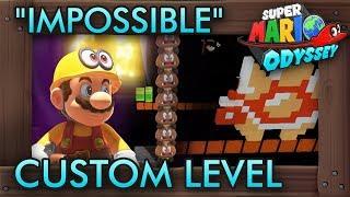 "The ""Impossible"" Custom Level - Super Mario Odyssey Maker"