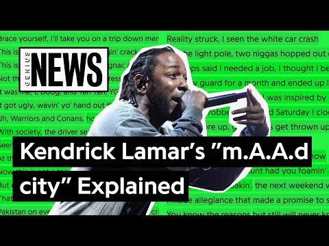 """Looking Back At Kendrick Lamar's """"m.A.A.d city"""" 