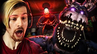THIS GAME IS TERRIFYING!! | FNAF: The Glitched Attraction