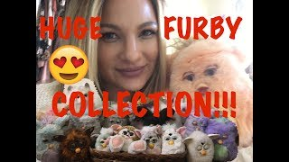 HUGE FURBY COLLECTION!!!!