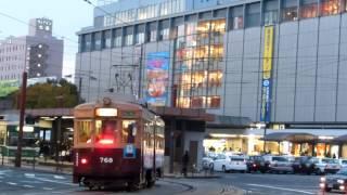 広島電鉄768号 1号線運用につく