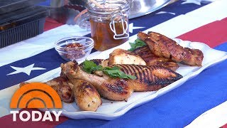 Memorial Day Cookout Recipes: Grilled Chicken, Potatoes And Patriotic Desserts | TODAY