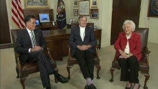 Mitt Romney gets George H.W. Bush endorsement