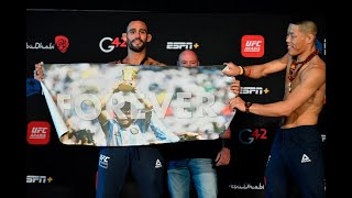 UFC Fight Island 7: Careos Oficiales