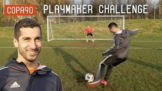 Henrikh Mkhitaryan Ultimate Playmaker Challenge! | Timbsy vs The World
