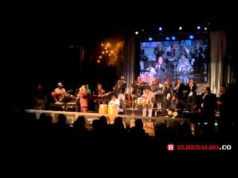 Ismael Miranda emocionó con el clásico Careta al público del Barranquijazz