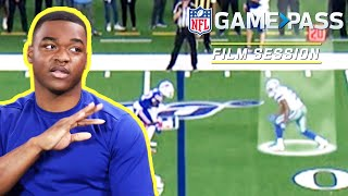 Amari Cooper on the Art of the Release & Route Running | NFL Film Session