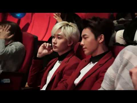 DONGHAE and EUNHYUK at KBS 'Music Bank'.