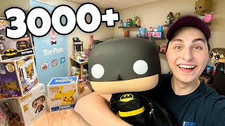 Moving My 3000+ Funko Pop Collection! (Part 3)