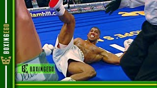 *LIVE EGO* ANTHONY JOSHUA GETS KNOCKED OUT BY DEONTAY WILDER SAYS ABEL SANCHEZ