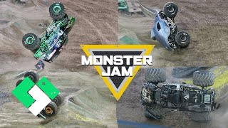 So Many Stunts! So Many Crashes! Monster Jam World Finals Freestyle | Clintus.tv