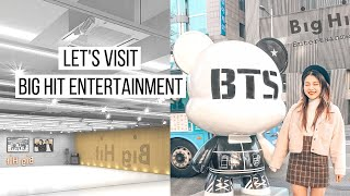 Let's Go To Big Hit Entertainment | BTS's Favourite Places in Seoul | dearnessie