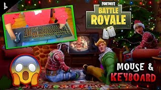 HOW I PLAY MOUSE AND KEYBOARD WITHOUT HANDS ON FORTNITE!