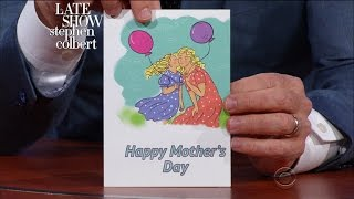 Late Show First Drafts: Mother's Day Cards 2017