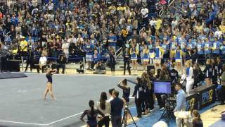 Katelyn Ohashi UCLA Floor Exercise 2017 vs Cal 9 925