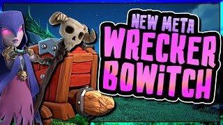 NEW BOWITCH WALL WRECKER ATTACK IS UNSTOPPABLE | Clash of Clans