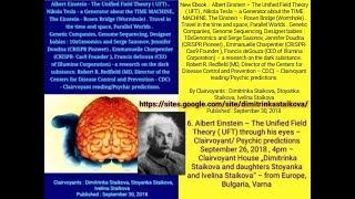 Albert Einstein –UFT ,Nikola Tesla,The Einstein – Rosen Bridge, Genome Sequencing, Designer babies