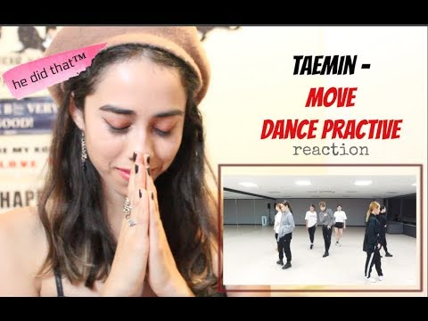 TAEMIN - MOVE Dance practice [reaction]