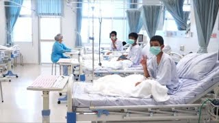 Thai rescue cave: boys are taken care of in hospital