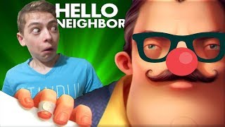 ПРИВЕТ СОСЕД ИГРА Покрасили дом и переодели героя Hello Neighbor на Sofia & Dima Video Games