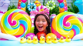 Bath Song Nursery Rhymes song for Kids from Linda and Baby