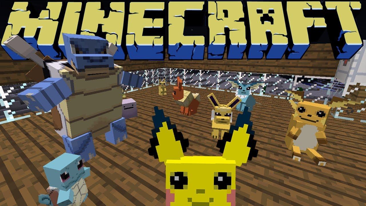 Tudo Sobre O Mod Pokecube ☯ Pokemon No Minecraft 1 2 5