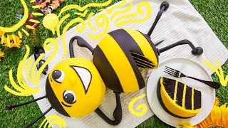 BUMBLEBEE CAKE!! | How To Cake It
