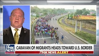 Homan on Growing Migrant Caravan: 'I Hope the American People Are Paying Attention'