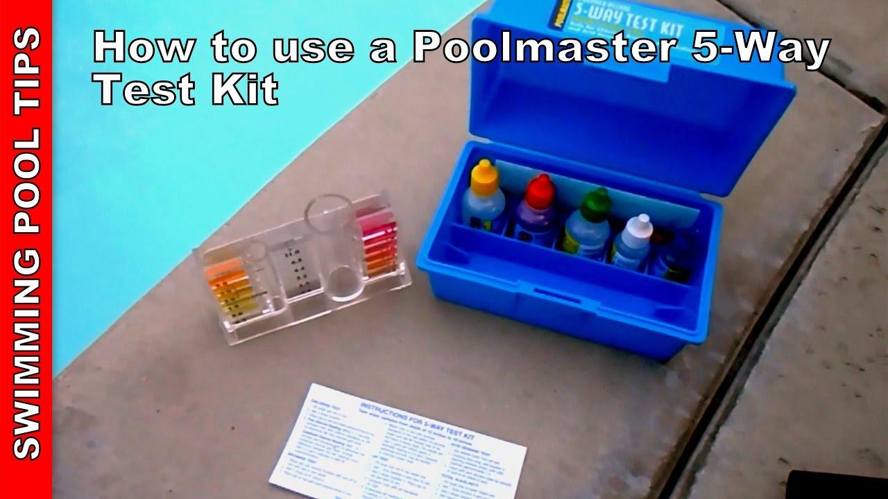 Pool Test Kit 5 Way Poolmaster 22260 5 Way Test Kit
