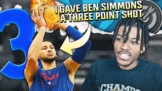 I GAVE BEN SIMMONS A 3 POINT SHOT AND IT CHANGED HIS CAREER