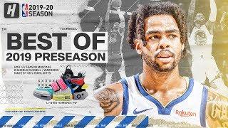 D'Angelo Russell WARRIORS DEBUT! BEST Highlights & Plays from 2019 NBA Preseason!