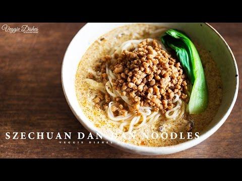 お肉も鶏ガラも使わない、ヴィーガン担々麺の作り方 : How to make Dan-Dan Noodles | Veggie Dishes by Peaceful Cuisine