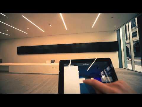"Stunning Video wall ""6 Bevis Marks"" London"