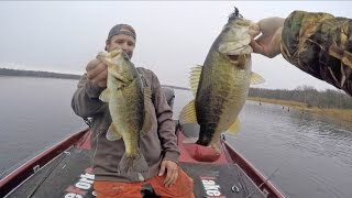 Winter to Pre Spawn Bass Fishing - Tips and Techniques