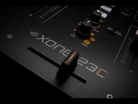 Xone:23C 2+2 Channel DJ Mixer with Soundcard
