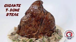 Porterhouse o T-Bone  Steak a la parrilla y en Sous Vide