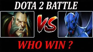 Lycan Vs Night Stalker - Dota 2 Battle#40