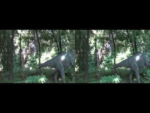 Park Dinozaurów w 3DHD ruchome dinozaury, Zator cz 2