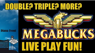 MEGABUCKS SLOT MACHINE-BIG WIN!-LIVE PLAY