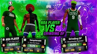I PULLED UP ON AN NBA PLAYER + 99 POST SCORER w/ MY 99 OVERALL PLAYSHARP!! BEST PG BUILD NBA 2K19