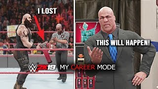 WWE 2K19 My Career Mode After ENDING - This Will Happen If You Lost Universal Title! Part 5
