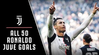 CR50 | EVERY SINGLE CRISTIANO RONALDO JUVENTUS GOAL!