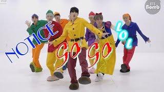 BTS GO GO dance practive (Halloween ver) - Những điều có thể chúng ta không để ý + fakesub