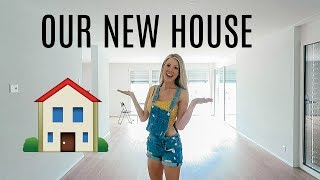 WELCOME TO OUR NEW HOUSE!!!