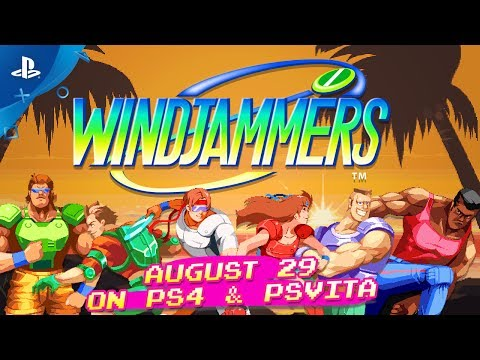 Windjammers Video Screenshot 2