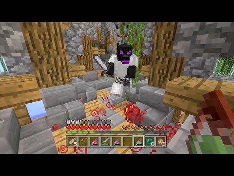 Minecraft Xbox - Floating Island Hunger Games - Round 1 - Smashpipe Games