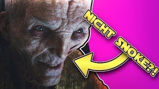 Star Wars: Snoke in Star Wars Episode 8: Die letzten Jedi war nicht Snoke [Theorie]