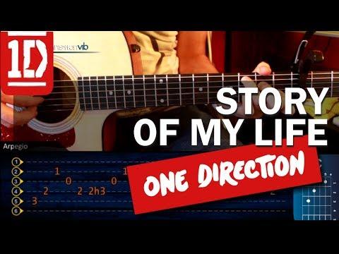 Baixar Como tocar Story of my Life - ONE DIRECTION - en Guitarra Acustica (HD) Tutorial