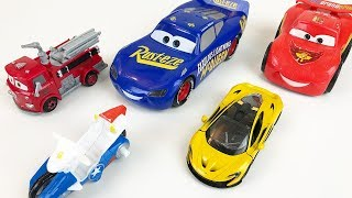 Let's Learn Colors Disney Cars Fire Truck Race Cars Motorcycles Educational Video for Kids