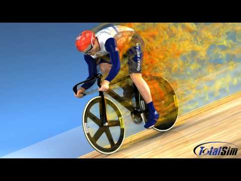 TotalSim | CFD analysis of Team GB Cyclist | CFD simulation by TotalSim